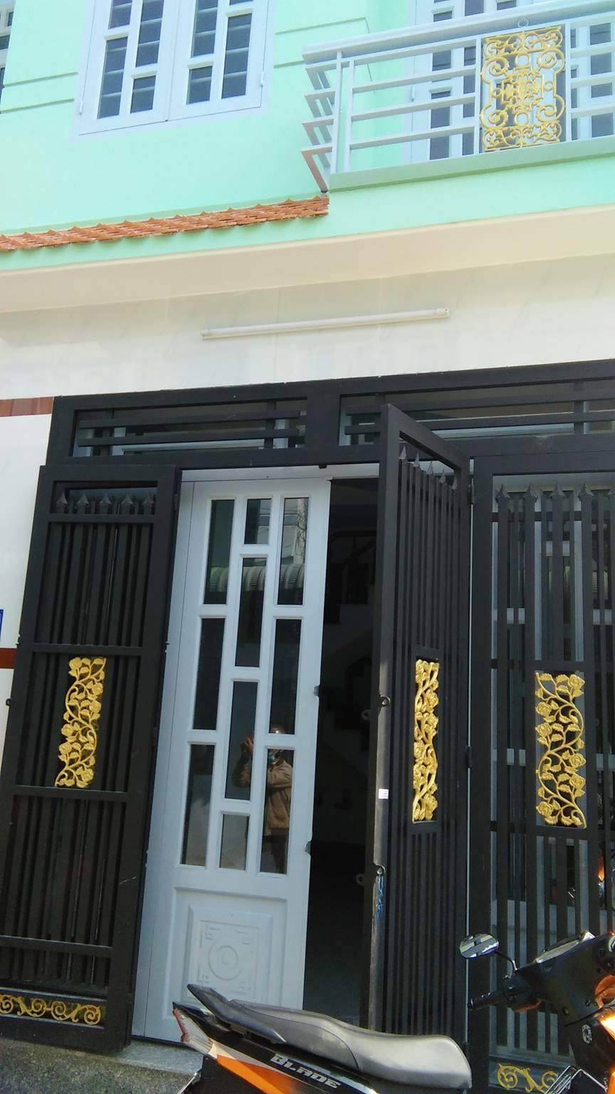 Nhà mới nguyên căn Võ Văn Vân, Vĩnh Lộc B, 40m2 giá 1 tỷ sổ hồng DTC